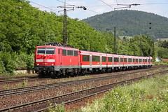 DB Regio 111 186-3 RE Laufach
