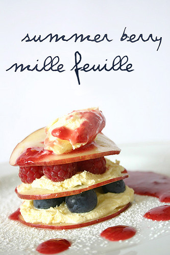 Summer Berry Mille Feuille