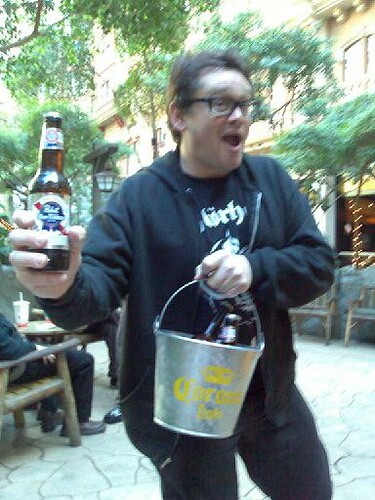 Ray and his Bucket of Beer