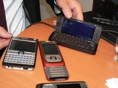 Nokia E61i, Nokia E65 ja E90 Communicator