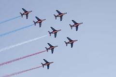 Patrouille de France (fredMin) Tags: plane jet army french fujifilm xt1 tamron 90