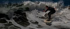 Oceanography (cetch1) Tags: surfing waveporn ocean rodeobeach water surf bigwave surfboard cron nature beach