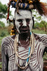 white face (rick.onorato) Tags: africa ethiopia omo valley tribes tribal mursi woman