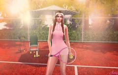 Tennis Time (Jessy30000 Naglo) Tags: modadesigns catwa maitreya dad astralia taketomi