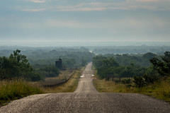 Hazy Days (JeffMoreau) Tags: hazy misty hondo texas landscape road hills texan sony a7ii rolling hilly country