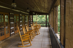 The Rockers (rschnaible) Tags: table rock state park south carolina the rockers rocking chair porch relaxing