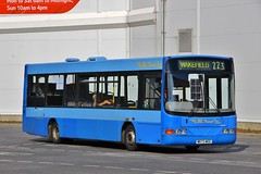 BL Travel W673WGG - Hemsworth (KA Transport Photography) Tags: bl travel w673wgg hemsworth