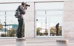 Im Spiegel (AxelN) Tags: mirroring europaviertel deutschland photographer window spiegelung fotograf badenwürttemberg haus gebäude stuttgart fenster