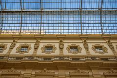 Vittorio Emanuele II Gallery (www.alexandremalta.com) Tags: alexandremalta sculptures walls ceiling roof details italy milan gallery vittorioemanuele