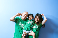 Portrait of parents and son in front of blue background (Yinjia Pan) Tags: 23years 3039years bluebackground chinaeastasia familywithonechild loveemotion millennialgeneration onebabyboyonly oneyoungmanonly oneyoungwomanonly portrait shanghai adult babyclothing beautifulpeople blackeye blackhair bonding carefree casualclothing cheerful child childhood chineseethnicity community curiosity cute domesticlife emoticon enjoyment facialexpression family father frontview happiness headshot indoors innocence joy laughing lifestyles lookingatcamera makingaface mother parent partof photography playful simpleliving smiling standing togetherness