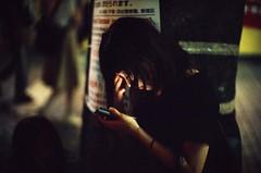 Exhaustion (jaxting) Tags: 東京 jaxting reversalfilm provia400x provia fujifilm filmisnotdead ishootfilm japan tokyo people street candid alacarte leicamp noctilux leica