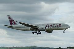 IMGP3865_A7-BFA_PIK (ClydeSights) Tags: 777fdz 77f a7bfa airfrance b77f boeing egpk glasgowprestwickairport pik qatarairwayscargo cn36098 oneworld