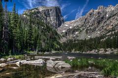 Rocky Mountain National Park (Paul Domsten) Tags: rockymountainnationalpark dreamlake colorado water mountain sky mountainside tree pentax rocks estespark