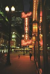 Late by The Berghoff (ho_hokus) Tags: 2011 35mmfilm 35mmfilmcamera chicago kodakmax200 lomo lomolca theberghoff bar restaurant