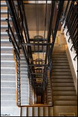 BAF_Centro Cultural Kirchner-20 (LeoPeci-Fotografías) Tags: baf centroculturalkirchner antiguo ascensor ascensores escalera urbana