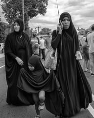 Ridge Ave., 2017 (Alan Barr) Tags: philadelphia 2017 nightmarket roxborough street sp streetphoto blackandwhite bw blackwhite mono monochrome candid city people panasonic lumix gx7