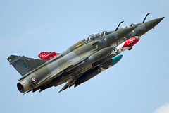 """""""Couteau Delta"""" (PhoenixFlyer2008) Tags: aircraft airshow aviation france couteau delta tactical demo camouflage mirage2000 dassault burner riat airtattoo fairford usafe military fast canon"""
