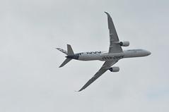 Airbus A350-1041 (A380spotter) Tags: flyingdisplay belly airbus a350 a350xwb™ xtrawidebody extra 1000 fwlxv 065 carbonlivery secondprototype 2nd demonstrator airbussas aib fabfab fia18 farnboroughinternationalairshow2018 taglondonfarnboroughairport eglf fab