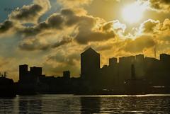 Daybreak on Genoa (Anciulino) Tags: liguria italy nikon photography photographers photos photo sun colors color city clouds sea landscapephotos landscapephotography landscapephoto landscape