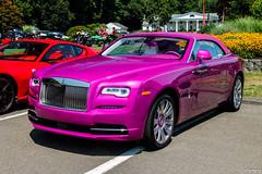 2017 Rolls-Royce Dawn (Rivitography) Tags: 1fuxia fl pink exotic expensive car rare colorful british farmington connecticut 2018 canon rebel t3 adobe lightroom rivitography 2017 rollsroyce dawn convertible