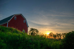 Rural New England Sunset (ap0013) Tags: sunset newengland rural farm barn newhampshire whitefield landscape summer ruralnewengland newenglandsunset farmsunset