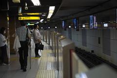 DSCF8080 (tohru_nishimura) Tags: xe1 xf6024 fujifilm ginza train subway station tokyo japan