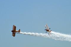 DSC_0717_001 (Gobbledeek) Tags: wales national airshow 2018 air show walesnationalairshow aerosuperbatics wing walkers aerosuperbaticswingwalkers wingwalkers