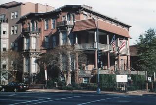 Washington  DC  - Former Morrison  Mansion -  Morrison Clark  Hotel . Vintage Photo