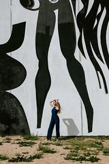 Alina (Estrilda) Tags: portrait portraiture girl street minsk grafitti blonde