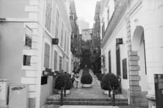 Macau Street (Kelvin MM) Tags: filmisnotdead blackandwhite epsonv800 filmphotography filmscanner negativefilm ilforddelta400 leicam3summaron35mmf28goggle leicam3 leica