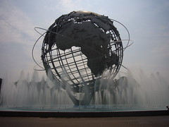 New York, Unisphere in Corona Park [09.08.2010]