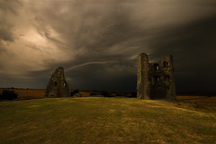 Hadliegh Castle (selvagedavid38) Tags: castle essex hadleigh storm clouds hill grass ruins tower stone