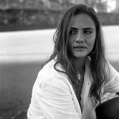 Acros120mm_007 (charbel.selwan) Tags: analog bw pb portrait beach nature woman rolleiflex afterbeach acros100 brasil fashion fashionphotography street black white clothes blonde contrast scan texture 120 water people blackandwhite