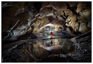 Cueva de Sale el agua - Galería principal