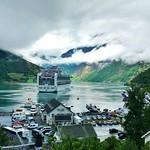 Geirangerfjord with Cruise Ship thumbnail