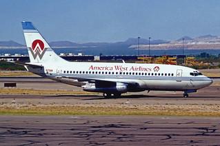 America West Boeing 737-277Adv N179AW TUS 06-94