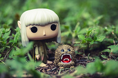 Protector (3rd-Rate Photography) Tags: thedarkcrystal kira fizzgig gelfling funko funkopop toy toyphotography vinyl canon 100mm macro jacksonville florida 3rdratephotography earlware 365