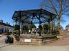 Market Place, Cannock - Northern Bandstand with an anchor (ell brown) Tags: cannock staffordshire england unitedkingdom greatbritain cannockchase tree trees marketplace anchor canopy bandstand northernbandstand kingedwardvii 25thanniversaryofthetwinningofcannockwithdatteln