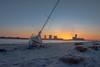 Shipwrecked (seanbeebe_photo) Tags: sailboat nj newjersey sunset brigantine atlanticcity dusk
