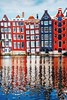 Follow me on Instagram♥️: giulia_cetto (alessandrocetto) Tags: lights colours sky yellow blue windows walls red reflection travel love lake amsterdam colors houses