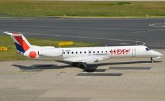 Hop! F-GRGF Embraer ERJ-145EP cn/145050 @ EDDL / DUS 16-06-2017 (Nabil Molinari Photography) Tags: hop fgrgf embraer erj145ep cn145050 eddl dus 16062017