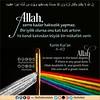 Ayet Kuran 1 (Oku Rabbinin Adiyla) Tags: allah kuran ayet sure dua holybook holybible holyquran verse god religion bible torah colors