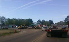 The second intersection: Hwy. 51 at Nesbit/Pleasant Hill Rd. (l_dawg2000) Tags: desotocounty hernando hwy51 mdot mississippi ms roadconstruction roadimprovements