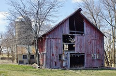 Retired Barn (chumlee10) Tags: barn decrepit old falling down cherry valley il illinois