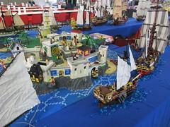 IMG_5597 (sebeus) Tags: lego brickmania wetteren 2018 exhibition pirate layout island ship sea ocean fort beach port harbor town