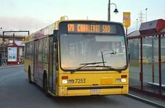 7253 173 (brossel 8260) Tags: belgique bus tec charleroi