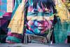 street graffiti in Rio de Janeiro, Brazil (daviddu*) Tags: landscape people summer art brazil city color colorful day face graffiti oneperson painting rio smile street streetart urban wall woman traditional travel