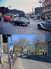 Old Haymarket, 1950s and 2018 (Keithjones84) Tags: liverpool oldliverpool thenandnow rephotography