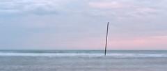 / (.martinjakab) Tags: provia longexposure seaside water meer line horizon clouds goldenhour stick simple minimalism shore beach panoramic