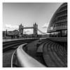 City Hall (Robgreen13) Tags: london cityhall southbank towerbridge riverthames bw mono